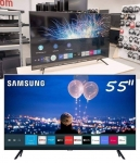 "Smart TV Crystal UHD 4K LED 55"" Samsung – 55TU8000 Wi-Fi Bluetooth HDR 3 HDMI 2 USB"