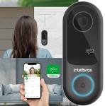 Vídeo Porteiro Intelbras Allo W3 Viva Voz – com Visão Noturna WiFi e Sensor de Movimento