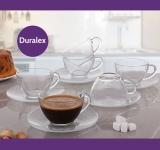 Jogo de Xícaras para Chá 12 Peças – Duralex Diamante