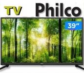 "TV HD D-LED 39"" Philco PTV39G50D – 2 HDMI 1 USB"