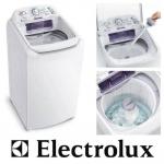 Lavadora de Roupas Electrolux 8,5Kg LES09 Branca Essencial Care – 220v