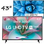Smart TV LED 43″ LG 43UN7300 UHD 4K Bluetooth HDR 10 Thing Ai Google Assistente – Alexa Iot Função Gamer