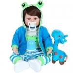 Boneca Reborn Laura Baby Rafael com Acessórios – NPK Doll