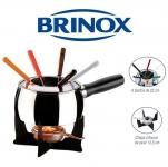 Aparelho de Fondue Inox 11 Peças Brinox – 1241/116