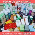CUPOM DE 20% NO SITE NATURA