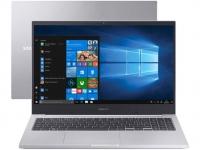 "Notebook Samsung Book X40 Intel Core i5 8GB 1TB – 15,6"" Placa de Vídeo 2GB Windows 10 Prata"