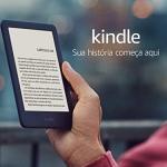"""Kindle 10ª Geração Tela 6"""" 8GB Wi-Fi Luz Embutida – Preto Preto"""