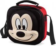 Lancheira 3D Disney Mickey – Lillo, Vermelha/Preto
