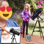Boneca Barbie – Barbie National Geographic – Astrofísica – Mattel