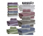Jogo De Toalha Banhão Basics Branco 5 Peças – Casa & Conforto By Buddemeyer