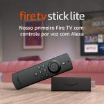 Novo Fire TV Stick Lite com Controle Remoto Lite por Voz com Alexa | Modelo 2020