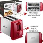 Torradeira Lenoxx PTR 203 2 Fatias – 6 Níveis de Tostagem 110V
