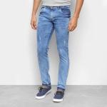 Calça Jeans Coffee Soft Estonada Masculina – Azul