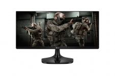 Monitor LG Gamer UltraWide 25″ IPS Full HD 1ms MBR – 25UM58G-P.AWZ, Preto