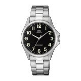 Relógio Masculino Q&Q Analógico QA06J205Y – Prata