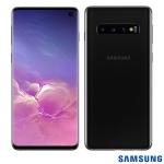 Samsung Galaxy S10 com Tela Infinita de 6,1″, 4G, 128GB, Câmera Tripla de 12MP+12MP+16MP – SM-G973FZKJZTO