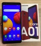 Smartphone Samsung Galaxy A01 Core Dual Chip Android 10.0 Tela 5.3″ Quad-Core 32GB Wi-Fi Câmera 8MP