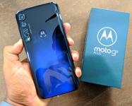 """Smartphone Motorola Moto G8 Plus Azul Safira 64GB, Tela Max Vision de 6.3"""" FHD+, Câmera Traseira Tripla, Android 9.0 e Processador Qualcomm Octa-Core"""