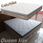 Colchão Queen Size Plumatex Molas Ensacadas – 28cm de Alt. Ópus