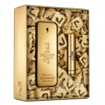 Kit One Million Paco Rabanne Perfume Masculino Eau de Toilette 100ml + miniatura 10 ml 100ml