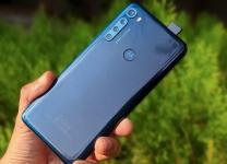Smartphone Motorola One Fusion+ Plus 128GB Azul Indigo 4G Tela 6.5 Pol. Câmera Quadrupla 64MP Android 10.0