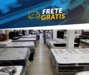 Seleção de camas box de diversos tamanhos com Frete Grátis quase todo o Brasil