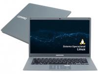 "Notebook Compaq Presario CQ-27 Intel Core i3 4GB – 240GB SSD 14,1"" Linux"