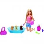 Barbie Cuidando Dos Cachorrinhos GDJ37 – Mattel