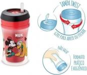 Copo Fun Disney – NUK, Vermelho/ Preto