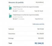 Ganhe R$ 200 de desconto nas compras acima de R$ 400 pagando com cartão de crédito  VISA