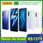 Smartphone Realme com estoque no Brasil
