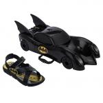 Chinelo Infantil Grendene Kids Batman Batmovel – Preto