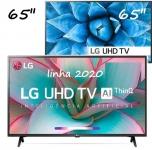 "Smart TV 4K LED IPS 65"" LG 65UN7310PSC Wi-Fi – Bluetooth HDR Inteligência Artificial 3 HDMI 2 USB"