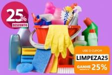 25% de Desconto em Produtos de Limpeza (Válido SOMENTE para Membros PRIME)